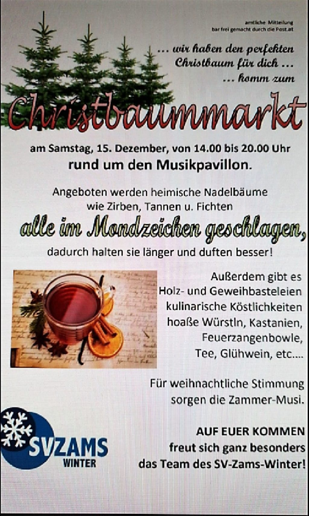 Christbaummarkt